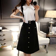 dabuwawa 2016 summer white shirt female big size fashion puff sleeve slim vintage big bow shirts women white-in Blouses & Shirts from Women's Clothing & Accessories on…