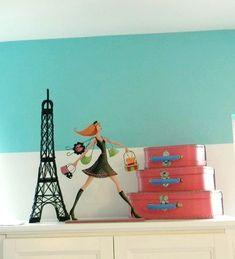 Daughter's Parisian Room