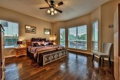 Master Suite with Beautiful View at Cardiff Ranch