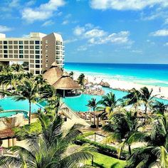 Who said one infinity pool was enough? - The Westin Lagunamar Ocean Resort Villas & Spa #svnlife #cancun