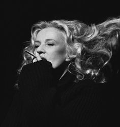 Jeanne Moreau, New York (1996).  Photo: Brigitte Lacombe.  I hate to repin these smoking shots, but so it goes.