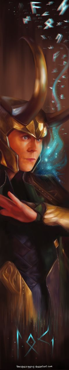 Loki Bookmark by *TheSpaceGypsy on deviantART << IF SOMEONE GETS THIS FOR ME I WILL TREASURE IT FOREVER