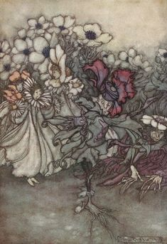 More Arthur Rackham (from Peter Pan in Kensington Garden)