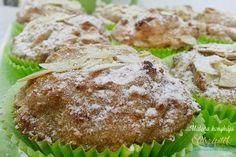 Almás-mandulás muffin glutén-, tej- és tojásmentesen | Életszépítők