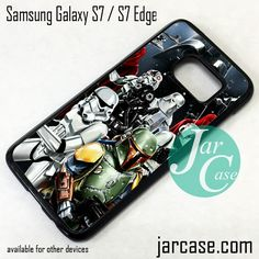 Star Wars The Troopers Phone Case for Samsung Galaxy S7 & S7 Edge