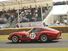 The Goodwood Festival of Speed is where ghosts and legends (like this Ferrari 250 GTO) come out to play. #cars
