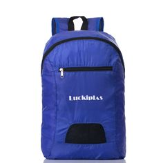 Lightweight handy foldable camping outdoor backpack bags on hot sale. The perfect backpack for any disney trip. This bags are Made with High Quality Water and Tear Resistant Nylon Material. Easy to folds up into small pocket (Sandwich size). More info on wellpromotion.com. Pouch Bag, Backpack Bags, Tote Bag, Outdoor Backpacks, Cool Backpacks, Wholesale Backpacks, Best Travel Backpack, Lightweight Backpack, Produce Bags