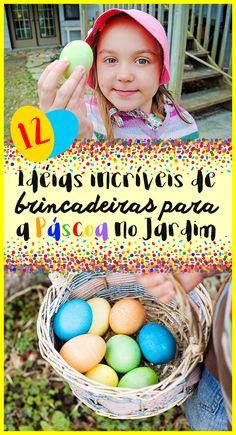 """Se tem uma dessas manifestações culturais, que vem crescendo no Brasil, e que é ao meu ver fantástica para as crianças, é a famosa """"Caça aos ovos de Páscoa"""", principalmente quando essa estimulante atividade pode ser realizada ao ar livre, aproveitando o espaço do jardim.  #egghunt #páscoa #ovosdepascoa #jardim #jardinagem #jardineironet #crianças #atividades #brincadeiras #coelhodapascoa"""