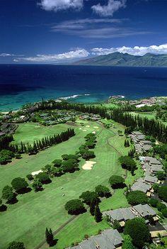 Kapalua Resort Aerial Photo... #golf #courses