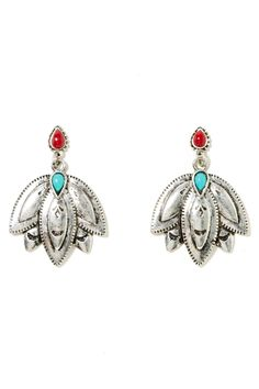 Santa Fe Earrings | Shop Silver at Nasty Gal