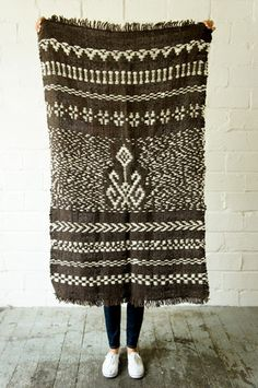 Telar Mapuche Blanket