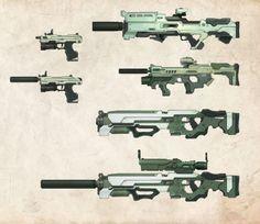 DS Prototype Weapons by bflynn22 - Bryan Flynn - CGHUB via PinCG.com
