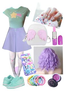 """""""Fairy Kei"""" by mersunflower ❤ liked on Polyvore"""