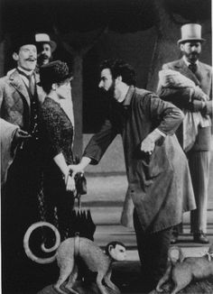Bernadette Peters & Mandy Patinkin in Sunday in the Park with George.