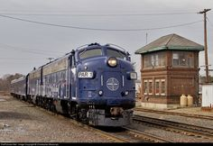PAR 1 Pan Am Railways EMD FP9 at Ayer, Massachusetts by Christopher Blaszczyk