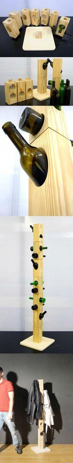 Diy Bottle Clothes-hanger