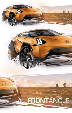 Nissan Vulkano Concept on Behance