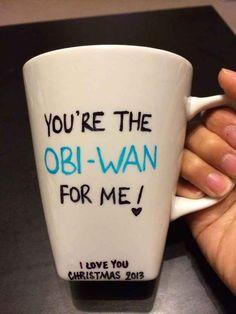 Hazles una taza de La guerra de las galaxias.