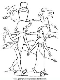mowglie coloring pages to print - photo#36