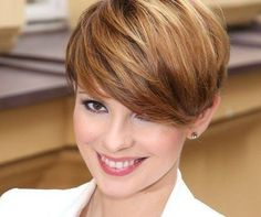 like the color - All For Little Girl Hair Dark Blonde Hair Color, Hair Color And Cut, Short Bob Hairstyles, Pretty Hairstyles, Short Hair Cuts For Round Faces, Short Dark Hair, Pelo Pixie, Pixie Haircut, Fine Hair