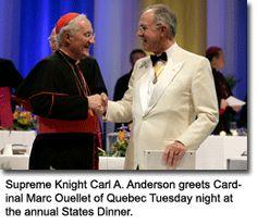 Knights of Columbus, Archbishop of Quebec, Freemasons, freemason, freemasonry, masonic