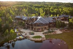 Stone Deck, Luxury Homes Dream Houses, Dream Homes, Luxury Cabin, Dream Mansion, Guest Ranch, Sky Full Of Stars, Horse Ranch, H & M Home