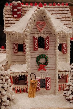 Gingerbread House competition at Grove Park Inn in Asheville