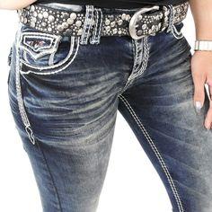 Stylische Damen Jeans von CipoBaxx Modellnummer WD 243 mit dicken weißen Ziernähten in weiß Slim Fit und Stretch #stylefabrik #fashion #denim #jeans #frauen #style #slimfit