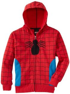 Marvel Comics Mens Spiderman Costume Hoodie Spidey Suit On (X-Large) Mens Spiderman Costume, Spiderman Hoodie, Spiderman Kids, Spiderman Marvel, Avengers Comics, New Halloween Costumes, Blue Costumes, Winter Hoodies, Diy Shirt