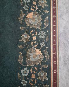 the # Tezhipsanat of # illuminatör # design Islamic Art Pattern, Pattern Art, Print Patterns, Arabic Calligraphy Design, Curve Design, Design Design, Illumination Art, Iranian Art, Turkish Art