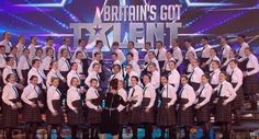 Congrats to the Presentation College Kilkenny Crew who have made the live finals of Britain's Got Talent! #GoGirls