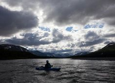 #Kayaking the Kuururjuaq in #Quebec. Experience travel to Quebec's north at opXpeditions Kuururjuaq: http://www.opxpeditions.com/kuururjuaq/