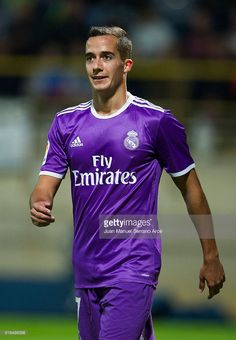 Lucas Vazquez of Real Madrid reacts during the Copa del Rey Round of 32 match between Cultural Leonesa and Real Madrid CF at Reino de Leon Stadium on October 26, 2016 in Leon, Spain.