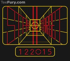 Stay on target folks, release date is coming @teefury