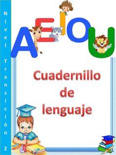 Cuadernillo lenguaje kinder Abc Activities, Toddler Learning Activities, Preschool Spanish, Bilingual Education, Substitute Teacher, Grammar Book, Kindergarten Math, Speech And Language, Booklet