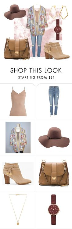 """Good Ole Days"" by theblockvintage ❤ liked on Polyvore featuring Hanro, River Island, Goorin, White House Black Market, Chloé, Vanessa Mooney, Skagen and Dutch Basics"
