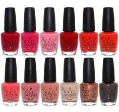 Nail Polish: Opi California Dreaming Collection Summer 2017 Nail Lacquer Set Of 12 -> BUY IT NOW ONLY: $79.95 on eBay!