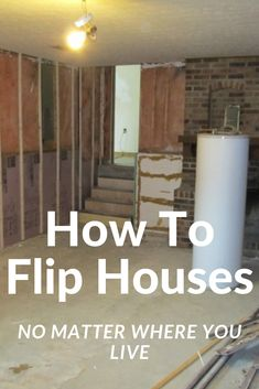 While some real estate markets can be better than others for house flipping. I am living proof that you can successfully flip houses no matter… Buying Investment Property, Rental Property, Investing, Real Estate Investor, Real Estate Marketing, Wholesaling Houses, House Flippers, Real Estate Rentals, Construction