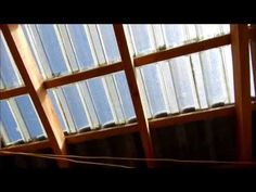 Ecolaje com Telhado Transparente. - YouTube