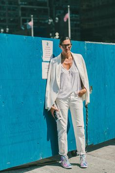 NYFW Street Style, Day Three: Jenna Lyons