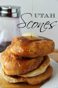 Homemade Utah Scones on MyRecipeMagic.com