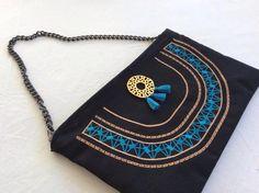 BOHO  | Handmade Bag Handmade Bags, Wallet, Boho, Chain, How To Make, Fashion, Moda, Handmade Purses, Fashion Styles