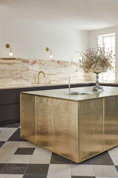Home Decor Kitchen, Kitchen Interior, Home Kitchens, Interior Design Inspiration, Home Interior Design, Interior Architecture, Interior Ideas, Küchen Design, House Design