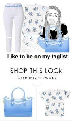 """""""Milk Marie - Rich Homie Quan"""" by queenswag245 ❤ liked on Polyvore featuring Furla"""