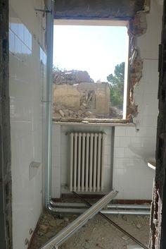 foto di Massimo Golfieri - anno 2010 la demolizione..