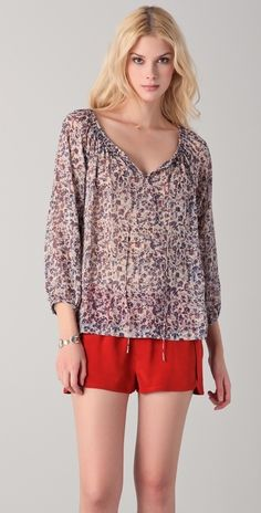 9121d00c413ff Club Monaco Pamela Blouse thestylecure.com Virtual Closet, Silk Chiffon,  Club Monaco,