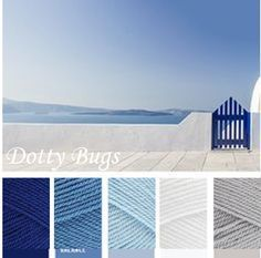 royal, aster, cloud blue, white, silver - stylecraft special dk