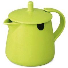 Bring color to your tea ritual  Tea Bag Teapot 12 oz $18.00