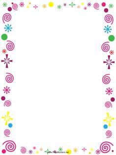 Resultado de imagen para free printable border designs for paper Free Printable Stationery, Printable Paper, Printable Labels, Printables, Page Borders Design, Border Design, Borders For Paper, Borders And Frames, Borders Free