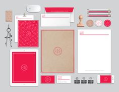 Personal Identity by Sylvia Prats, via Behance